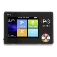 Малогабаритный тестер видеосигнала для аналоговых и IP-камер RV-ZTest16P